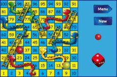 free iPhone app Le jeu des serpents et des échelles