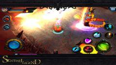 free iPhone app Dark Descent: Sentinel Legend