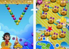 free iPhone app Power Balls - Dragon Ball Z Version