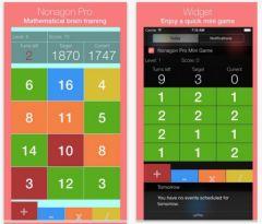 free iPhone app Nonagon Pro