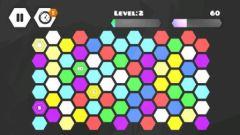 free iPhone app Hexagon Puzzle