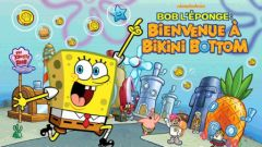 free iPhone app Bob l'éponge : Bienvenue à Bikini Bottom