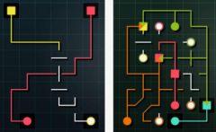 free iPhone app Puzzle Lines