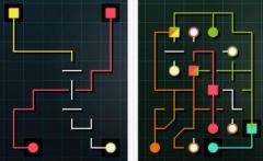 free iPhone app Puzzle Lines