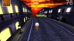 free iPhone app Crazy Run 3D