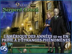free iPhone app 9 Clues: The Secret of Serpent Creek HD (Full)
