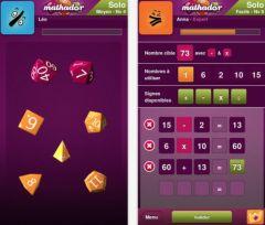 free iPhone app Mathador