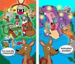 free iPhone app Puzzles Animaux
