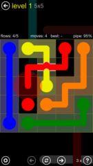 free iPhone app Flow Free: Bridges