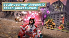free iPhone app Playworld Superheroes