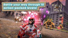 free iPhone app Playworld Superheroes