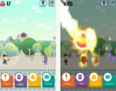 free iPhone app Pocket Wizard : Magic Fantasy