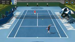 free iPhone app Flick Tennis