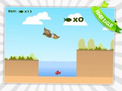 free iPhone app Fisher Birds HD