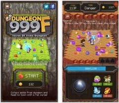 free iPhone app Dungeon999F