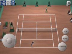 free iPhone app Stickman Tennis 2015