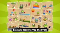 free iPhone app Tap the Frog: Doodle