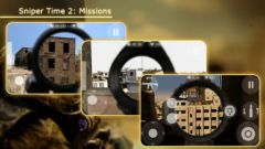 free iPhone app Sniper Time 2: Missions