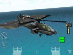 free iPhone app Apache 3D Sim HD
