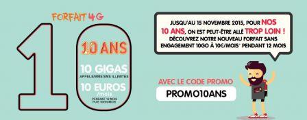 dernier jour promo forfait nrj mobile 10 go pour 10 euros 4g sans engagement. Black Bedroom Furniture Sets. Home Design Ideas