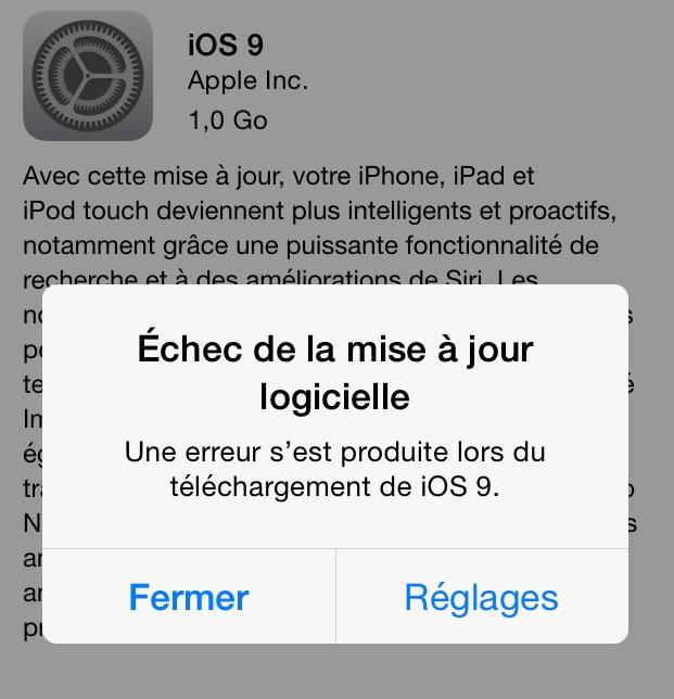 Télécharger iOS 9 pour iPhone 4s - 01net.com - Telecharger ...