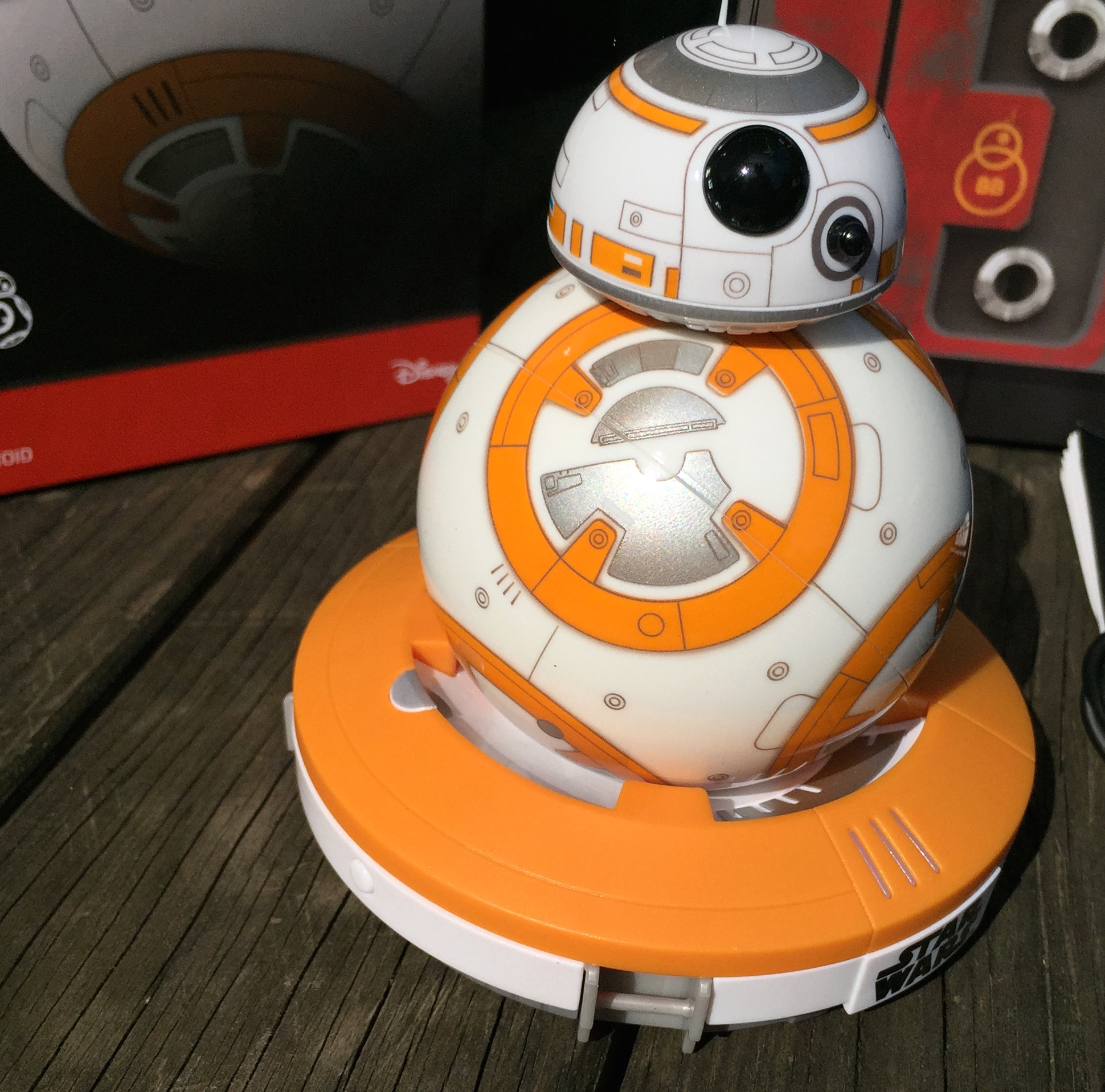 test de bb 8 le robot connect de star wars pour iphone ipad et android mise jour. Black Bedroom Furniture Sets. Home Design Ideas