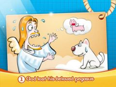 free iPhone app Stupid Dog Find Out HD