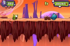 free iPhone app MR - Monster Runner