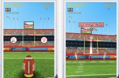free iPhone app Flick Kick Field Goal