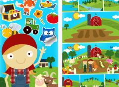 free iPhone app Farm Story Maker Activity Game