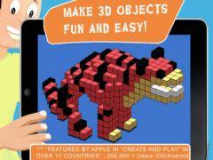 free iPhone app Blox 3D Junior