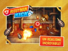 free iPhone app Buddyman: Kick HD