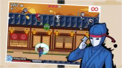free iPhone app Little Ninja Rush