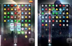 free iPhone app Space Puzzle