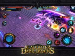 free iPhone app Slaughter Dark Demons
