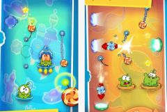 free iPhone app Cut the Rope: Time Travel