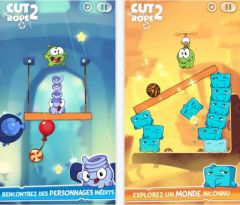 free iPhone app Cut the Rope 2