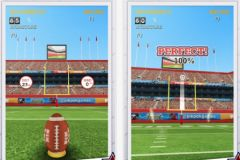 free iPhone app Flick Kick Field Goal