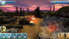 free iPhone app Iron Hero: Collision