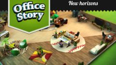 free iPhone app Office Story