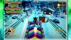free iPhone app Rocket Racer R