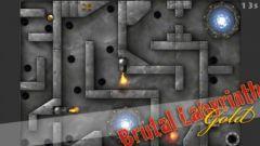 free iPhone app Brutal Labyrinth Gold