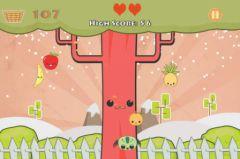 free iPhone app Cute Fruit Tap