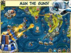 free iPhone app Iron Sea Defenders HD TD