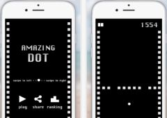 free iPhone app Amazing Dot