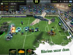 free iPhone app FootLOL: Crazy Soccer!