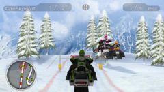 free iPhone app Snow Moto Racing