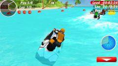 free iPhone app Aqua Moto Racing 2