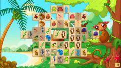 free iPhone app Mahjong Animals