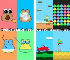 free iPhone app Pou